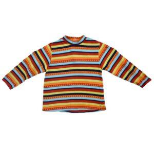 Poiste triibuline värviline pluus