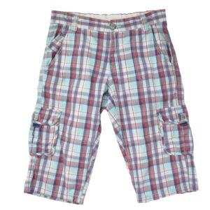 Ruudulised lühikesed püksid